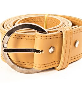 ladies double stitches belt
