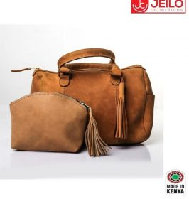 Brown Ladies' executive bag