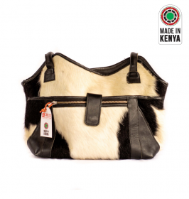 Black fur furaha Bag